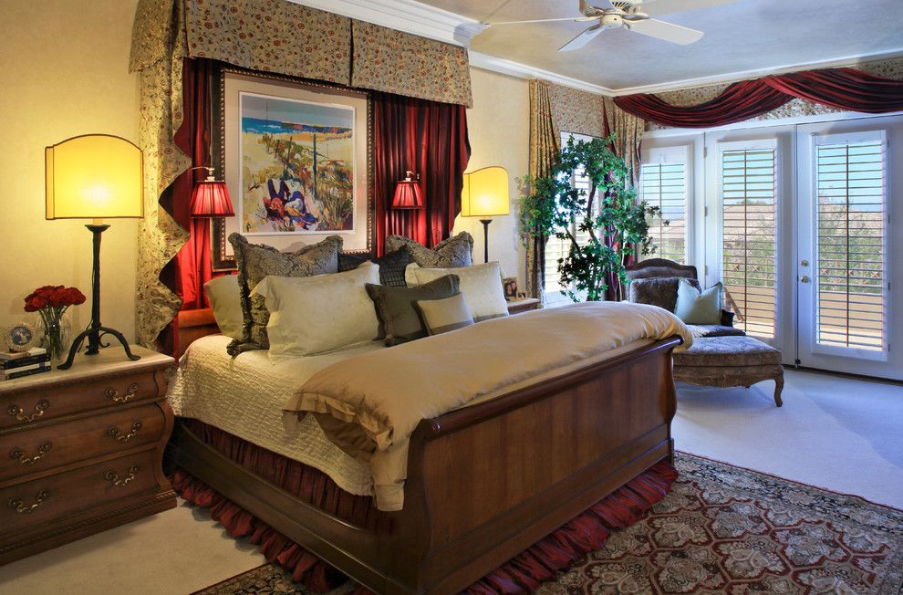 Get a royal bedroom look with amazing 2016 bed curtains for Bedroom designs royal