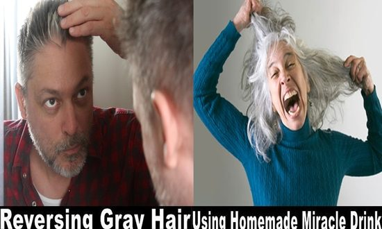 Get rid of gray hair with this amazing homemade drink