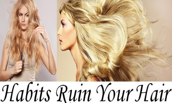Habits That Ruin Your Hair and How to Break Them