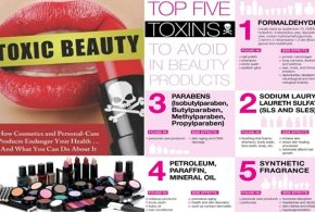 5 Hazardous Chemicals Found in Your Cosmetics and Body Care Products