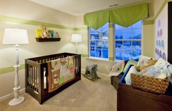 How to organize your baby room to be nice and attractive