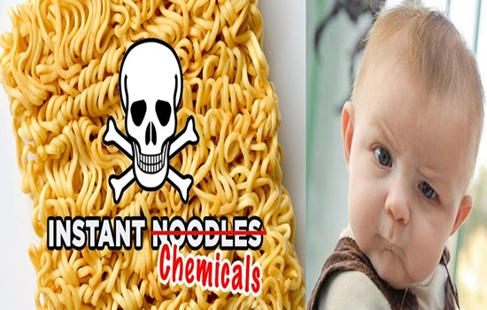 INSTANT NOODLES ARE ACTUALLY DANGEROUS TO YOUR HEALTH