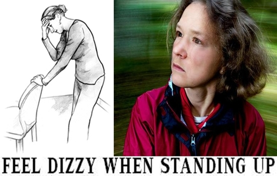 IS IT WORRISOME TO FEEL DIZZY WHEN STANDING UP