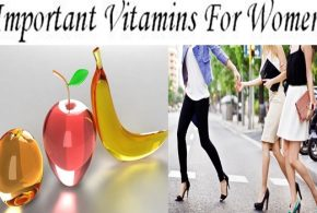 The Five Important Vitamins For Women