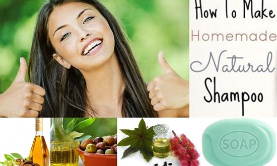 Make Natural Shampoo Yourself Easily in 5 Steps