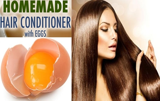 Natural Hair Conditioner Recipes Made with Eggs