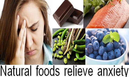Natural foods that can relieve anxiety