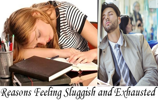 Reasons Why You Are Always Feeling Sluggish and Exhausted