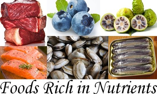 Richest in Nutrients Foods