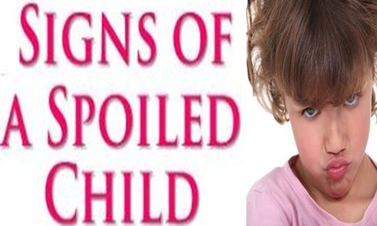 Signs That Will Tell You Your Child is Spoiled
