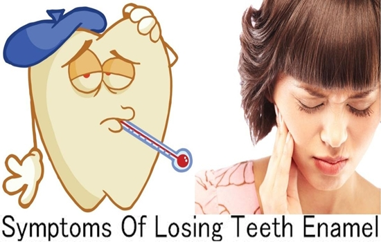 Symptoms Of Losing Teeth Enamel