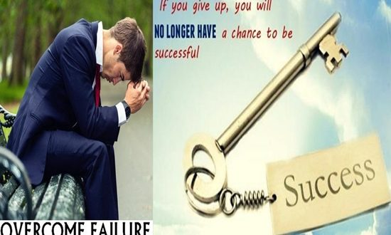 TIPS TO OVERCOME FAILURE