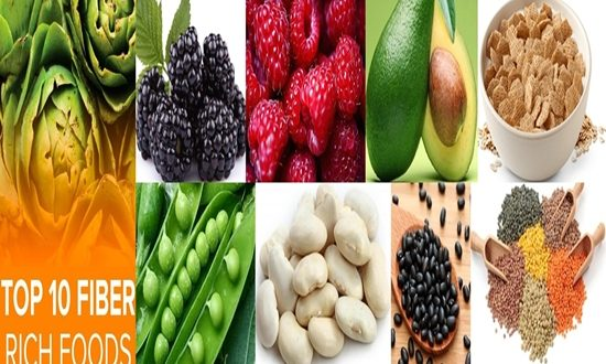 The Top 10 Rich in Fiber Foods