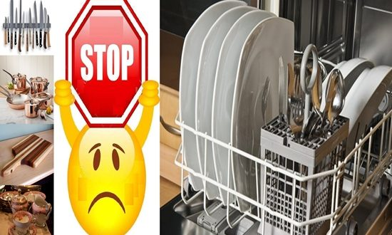 Things You Shouldn't Clean with s Dishwasher