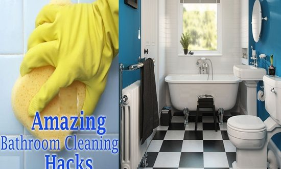 Time Saving Bathroom Cleaning Hacks