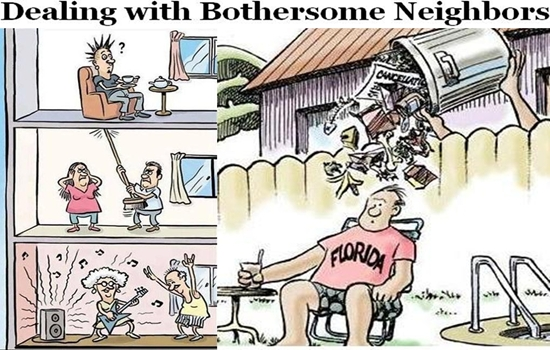Tips for Dealing with Bothersome Neighbors