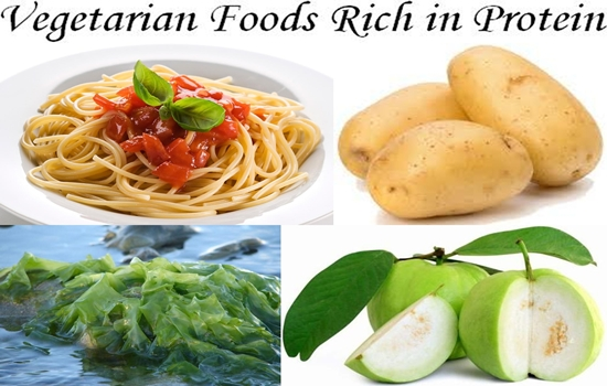 Vegetarian Foods Rich in Protein