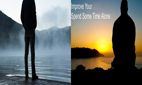 Alone Time in Your Daily schedule