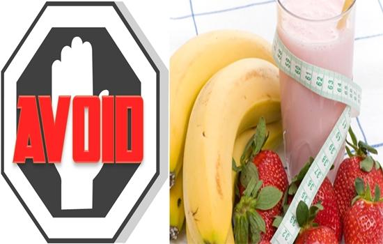 Avoid Weight Loss Shakes