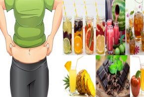 Drinks for burning belly fat