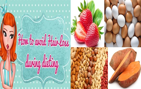 Foods to prevent hair loss during diet