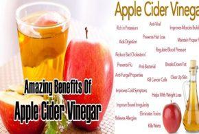 5 Astonishing Health Benefits of Apple Cider Vinegar