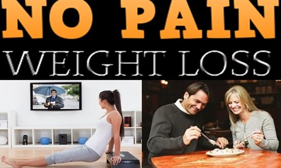 How to Lose Weight with No Pain