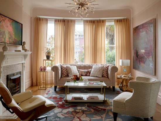How to choose a suitable curtain to add charm to your living room!