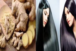 Increase Your Hair's Volume, Length, Strength, Softness and Shininess With Ginger.