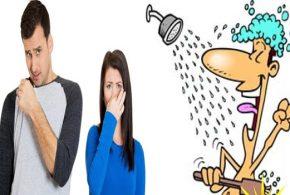Methods to get rid of unpleasant body odor