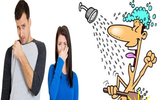 Methods to get rid of unpleasant body odor