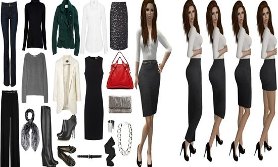 Necessary Wardrobe Contents for a Working Woman