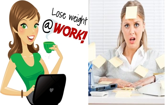 Tips for Losing Weight at Work