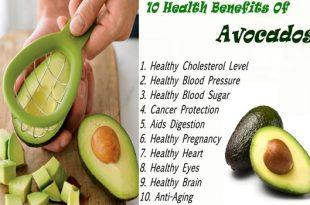 Top 10 Health Benefits of Avocado