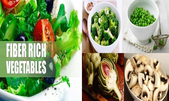 Vegetables Richest in Fiber
