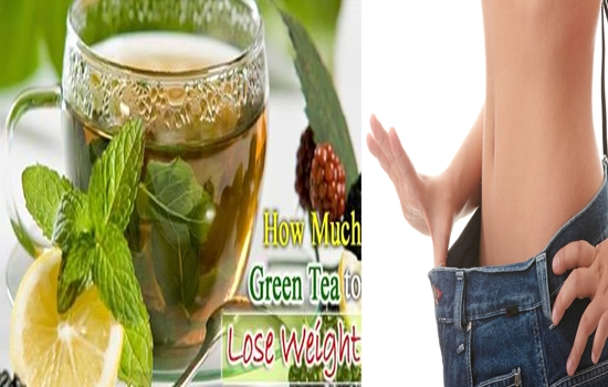 drinking green tea after meals helps you to lose weight