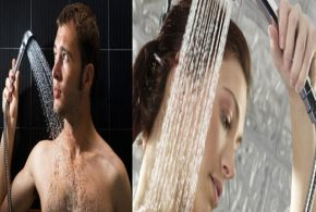 4 mistakes we do while taking a shower