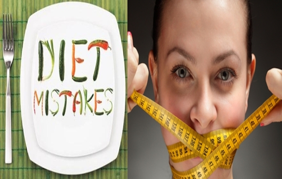 mistakes women do while dieting