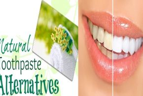Some natural alternatives for toothpaste
