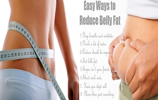reducing belly fat easily