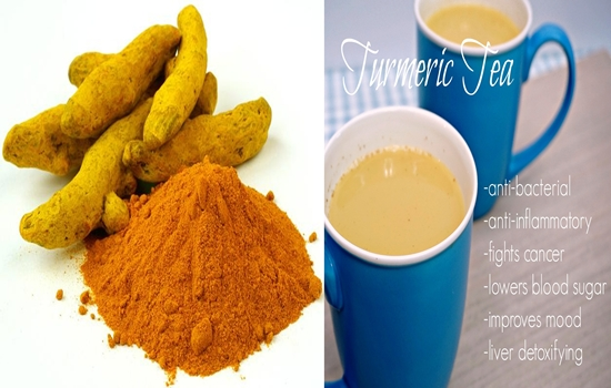 turmeric tea on an empty stomach every day