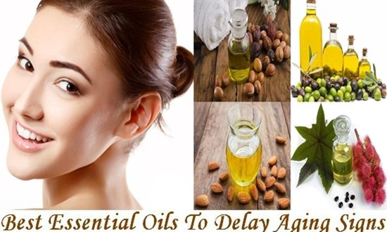 Essential Oils To Delay Aging Signs