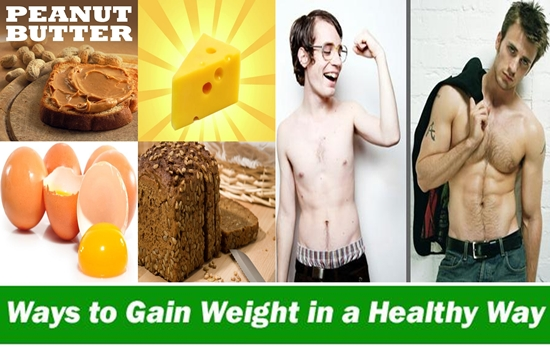 Healthy foods for gaining weight