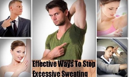 How To Control Excessive Sweating