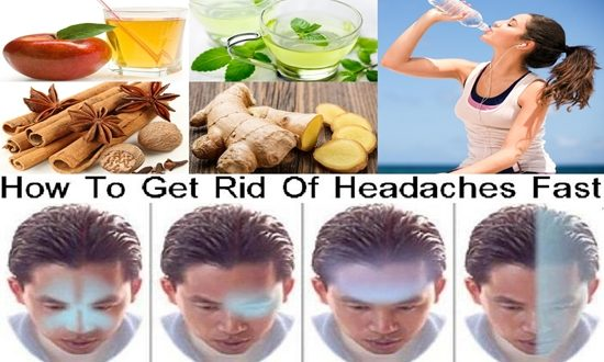 How To Get Rid Of Headaches Fast