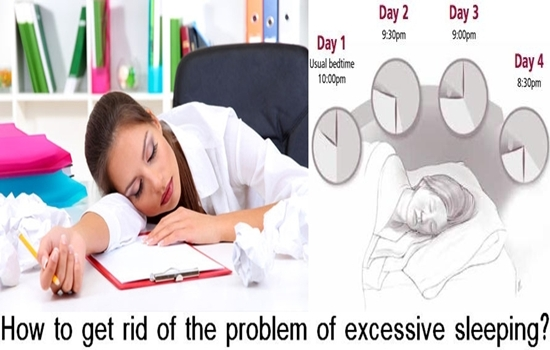 How to get rid of the problem of excessive sleeping