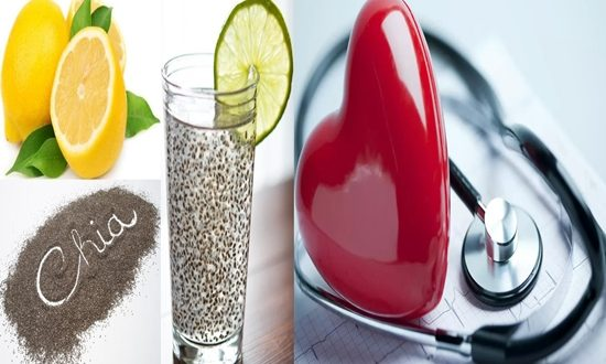 Lime Juice and Chia Seeds to Reduce High Cholesterol Levels