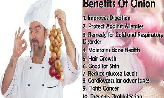 Medical benefits of onions