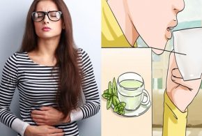 Natural drinks for treating bloating
