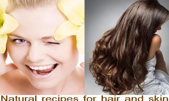 Natural recipes for your hair and your skin